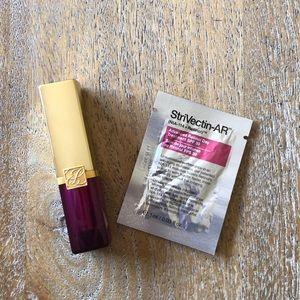Lipstick and mask